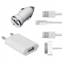 Kit recharge 4 en 1 pour iPhone 3/4/5 et iPad