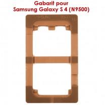 Samsung Galaxy S4 : Gabarit pour coller la vitre tactile sur l'écran LCD