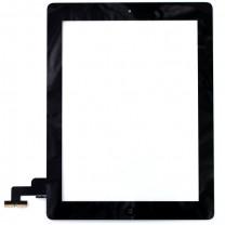 iPad 2 : Complet : Vitre tactile noire avec bouton home