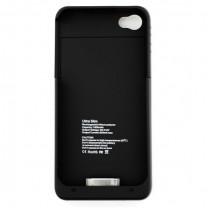 iPhone 4/4S : Coque noire batterie intégrée
