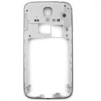 Samsung Galaxy S4 / S4 4G / ADVANCE : Chassis contour argent arrière
