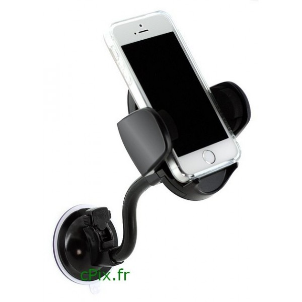 support smartphone universel pour voiture accessoire. Black Bedroom Furniture Sets. Home Design Ideas