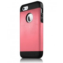 iPhone 5 / 5S / SE : ETUI ROSE NOIR ANIBAL ITSKINS