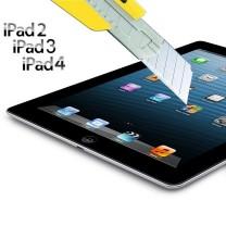 iPad 2 / 3 / 4 retina : Verre protecteur d'ecran