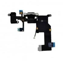 iPhone 5 : Connecteur de charge lightning noir - pièce détachée