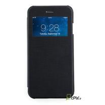 iPhone 6 / 6S : Etui Flip view noir - accessoire
