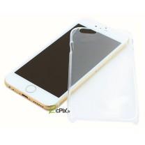iPhone 6 / 6S : coque rigide de protection transparente - accessoire