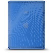 iPad 1 : Etui gel bleu iLuv