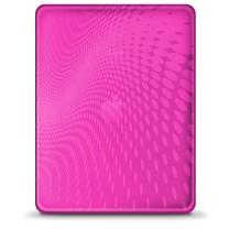 iPad 1 : Etui gel rose iLuv