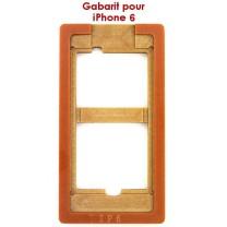iPhone 6 : Gabarit pour coller la vitre tactile sur l'écran LCD