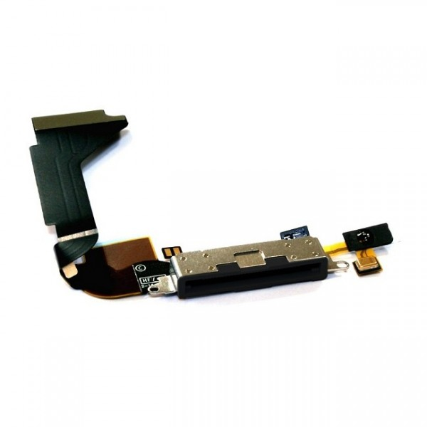 connecteur de charge avec micro pour iphone 4 apple. Black Bedroom Furniture Sets. Home Design Ideas