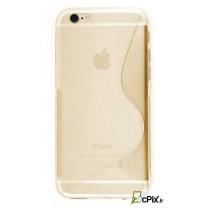 iPhone 6s Plus : Etui gel transparent Design S