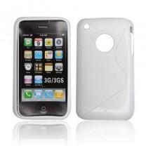 iPhone 3GS : Etui gel blanc - accessoire