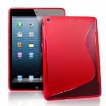 iPad Air : Etui gel rouge type S