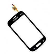 Galaxy Trend Lite S7390 : Vitre noire tactile, pièce détachée