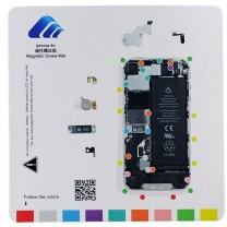 iPhone 4S : Tapis gabarit vis pour démontage magnétique