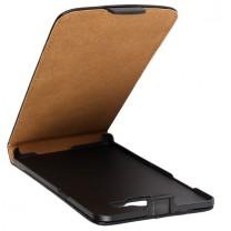 Samsung Galaxy A3 : Etui rabat noir - accessoire