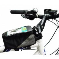 sacoche smartphone vélo sur cadre