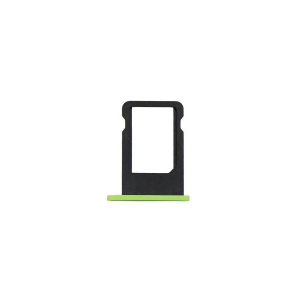 iphone 5c tiroir sim vert pi ce d tach e. Black Bedroom Furniture Sets. Home Design Ideas