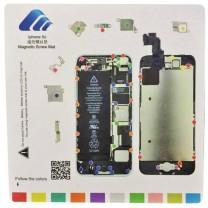 iPhone 5C : Tapis gabarit magnétique pour démontage des vis