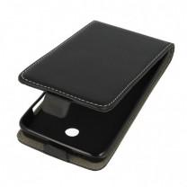 Nokia Lumia 630 ou 635 : Etui noir à rabat