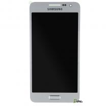 Samsung Galaxy A3 : Ecran complet Argent - pièce détachée