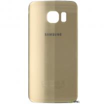 Galaxy S6 Edge SM-G925F : Vitre arrière or (doré)