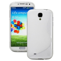 Samsung Galaxy S4 Mini GT-i9195 : Etui gel blanc design S