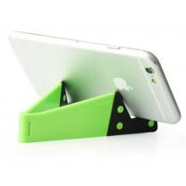 Support pliable pour smartphone vert - accessoire