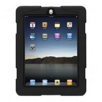 iPad 2 / 3 / 4 : Coque anti-choc noire - accessoire
