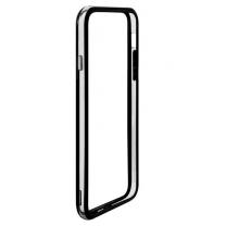 iPhone 6 et 6S - bumper noir et transparent