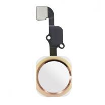 iPhone 6S / 6S Plus : bouton Home blanc or et nappe de connexion