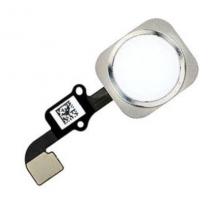 iPhone 6S / 6S Plus : bouton Home blanc argent et nappe de connexion