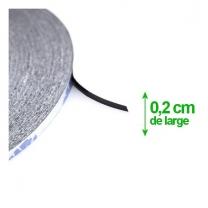 rouleau adhésif double face de 0.2 mm de large