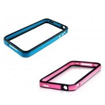 iPhone 4 / 4S : Bumper noir et couleur - accessoire