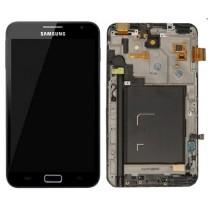 Galaxy Note N7000 : Ecran complet noir - pièce détachée