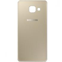 Samsung Galaxy A3 (2016) A310F : Vitre arrière Or (Gold) - pièce détachée