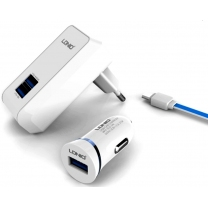 Pack chargeur micro USB Smartphone et Tablette