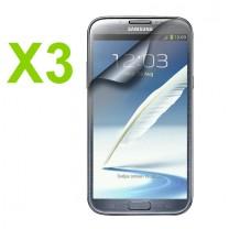 Samsung Galaxy Note 2 : lot de 3 Films de protection écran - accessoire