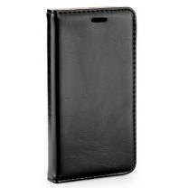 Galaxy S6 SM-G920F : Etui noir porte-feuille