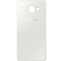 Samsung Galaxy A3 (20détaché16) A310F : Vitre arrière Blanc - pièce e