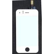 iPhone 3GS : Vitre tactile blanche - pièce détachée