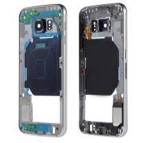 Samsung Galaxy S6 SM-G920F : Châssis central Noir Cosmos Officiel