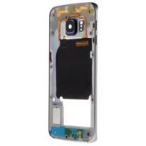 Samsung Galaxy S6 Edge SM-G925F : Châssis central Noir Cosmos Officiel