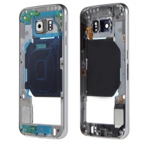 Samsung Galaxy S6 SM-G920F : Châssis central Blanc Officiel
