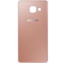 Samsung Galaxy A3 (2016) A310F : Vitre arrière Rose - pièce détachée