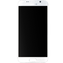 Samsung Galaxy S6 SM-G920F : Ecran BLANC Vitre + LCD