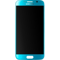 Samsung Galaxy S6 SM-G920F : Ecran Bleu Vitre + LCD