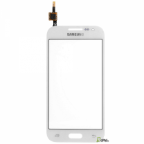 Galaxy Core 4G SM-G386F : Vitre tactile blanche