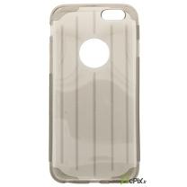 iPhone 6 iPhone 6S : Etui gel transparent Gris